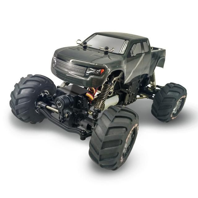2017 hot sell waterproof rc car kids toy 2098B 2.4G 1/24 4WD full scale remote control rock climbing nitro electric rc car