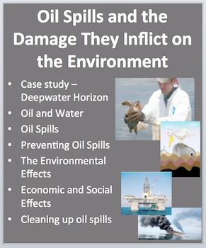 oil spill clean up experiment pdf