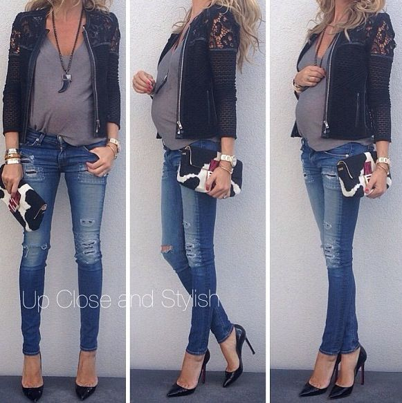 So simple and elegant maternity pregnancy style