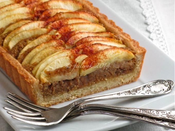 Crostata di mele con frangipane alla cannella, foto 1