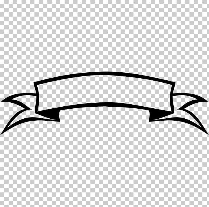 Ribbon Black And White Banner Png Angle Artwork Automotive Design Awareness Ribbon Banner Ribbon Png Banner Design Black Banner