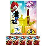 #7: Toy King 500 Pcs Water Ballons & 8 Sec water balloon Filler and Tier For Holi