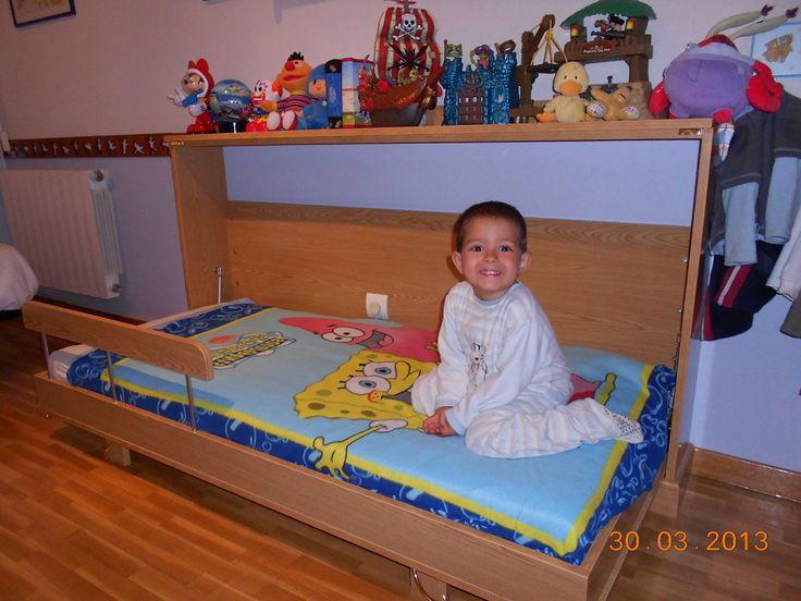 98 best cama abatible f cil de hacer images on pinterest - Construir cama abatible ...