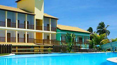 Ipojuca, PE Enotel Acqua Club Porto de Galinhas Resort 5 Estrelas em Frente à Praia para 2 Pessoas + Gratuidade p/ Criança  De: 930 reais Por: 653 reais em até 10x sem juros