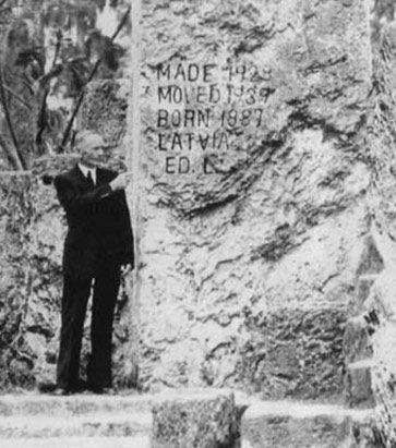 Heartbroken and deeply saddened, Ed set out on a lifelong quest to create a monument to his lost love that has become one of the world's most remarkable accomplishments, originally called Rock Gate Park but now known as the Coral Castle.