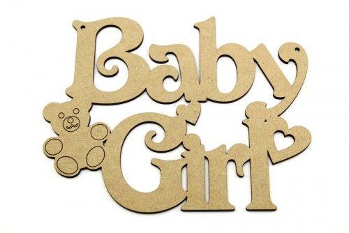 Baby Girl plaque http://www.lornajayne.co.uk/