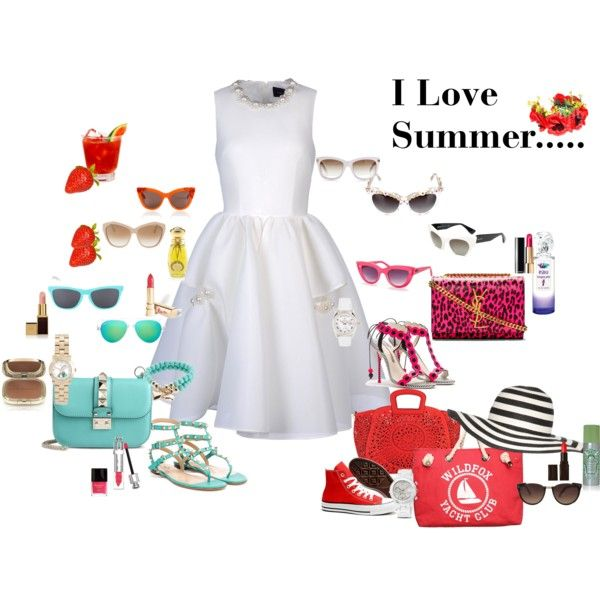 """I Love Summer....."" by aija-seele on Polyvore"