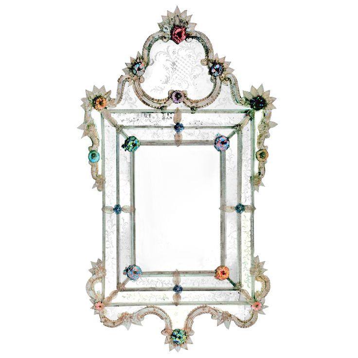 DUCALE Luxury Mirror by FRATELLI TOSI #yourmurano #glassart #mirrors