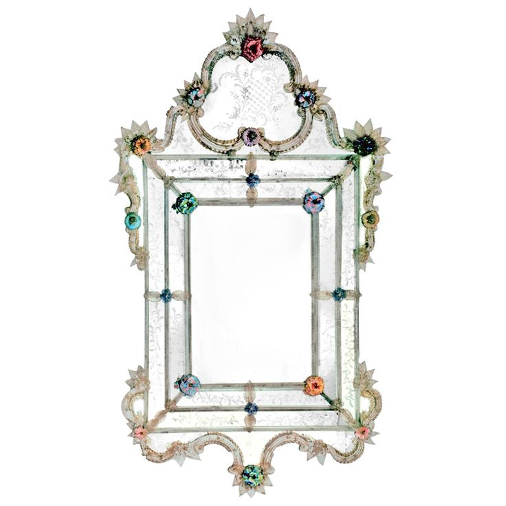 DUCALE Luxury Mirror by FRATELLI TOSI #yourmurano #glassart #mirrors