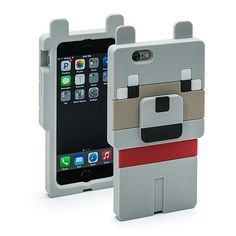 Minecraft Wolf Character Case
