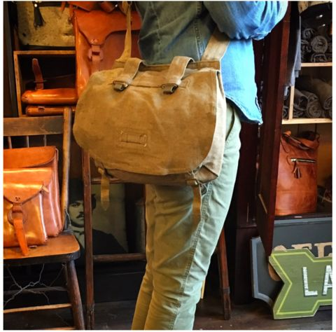 Vintage Czech Army bags