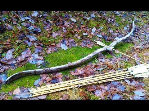 The video is in Russian but you can figure out what's going on from the visuals. Homemade PVC bow that looks like it works well!!