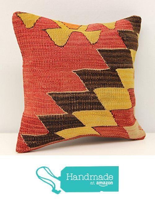 Handmade kilim pillow cover 12x12 inch (30x30 cm) Throw Kilim pillow cover Accent Small Pillow cover Decorative Kilim Cushion Cover from Kilimwarehouse https://www.amazon.com/dp/B0747PSK7R/ref=hnd_sw_r_pi_dp_7i7DzbRZ19F8Y #handmadeatamazon