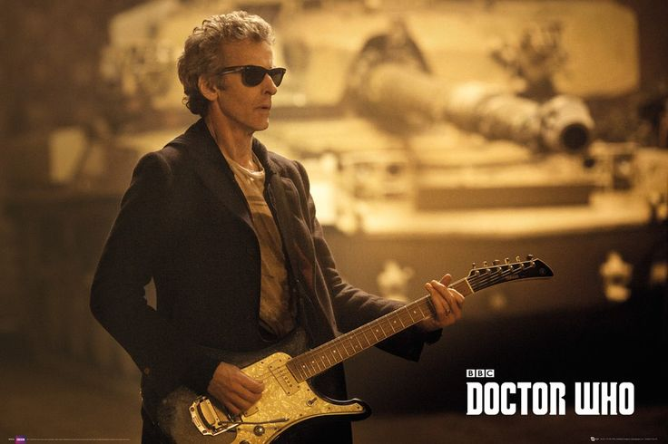 Peter Capaldi looking dapper