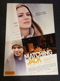 Matching Jack Poster (2010)   Drama   A woman struggles with her son's illness and her husband's infidelity, but, after a chance encounter with an Irish sailor and his son, her life is turned upside down in a love story that defies explanation and breaks all the rules.  Director: Nadia Tass Writers: Lynne Renew, Lynne Renew,  Stars: Jacinda Barrett, Richard Roxburgh, Tom Russell |