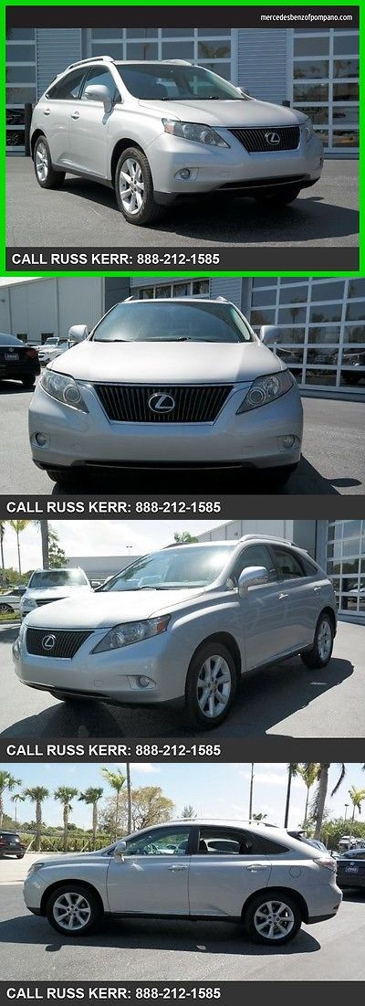 SUVs: 2010 Lexus Rx Base Sport Utility 4-Door 2010 Used 3.5L V6 24V Automatic Front Wheel Drive Suv Premium BUY IT NOW ONLY: $15795.0