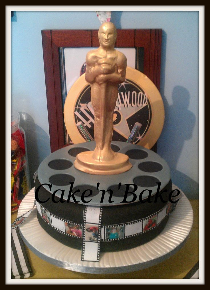 Cake Tv Show Crafts : 30 best images about hollwood party on Pinterest Movie ...