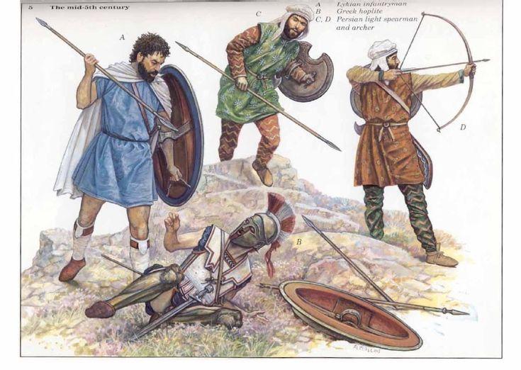 Achaemenid Persian Army (Montvert) | Persians v Greeks ... Ancient Persian Army