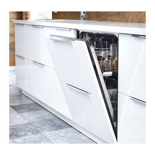 "RINGHULT Door - 18x30 "" - IKEA broken into to panels so it doesn't break up the line of cabinets"