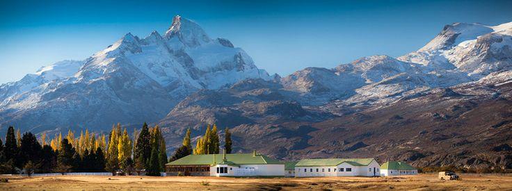 La Estancia Cristina, un alojamiento formidable en un marco espectacular, en la provincia de Santa Cruz Argentina.