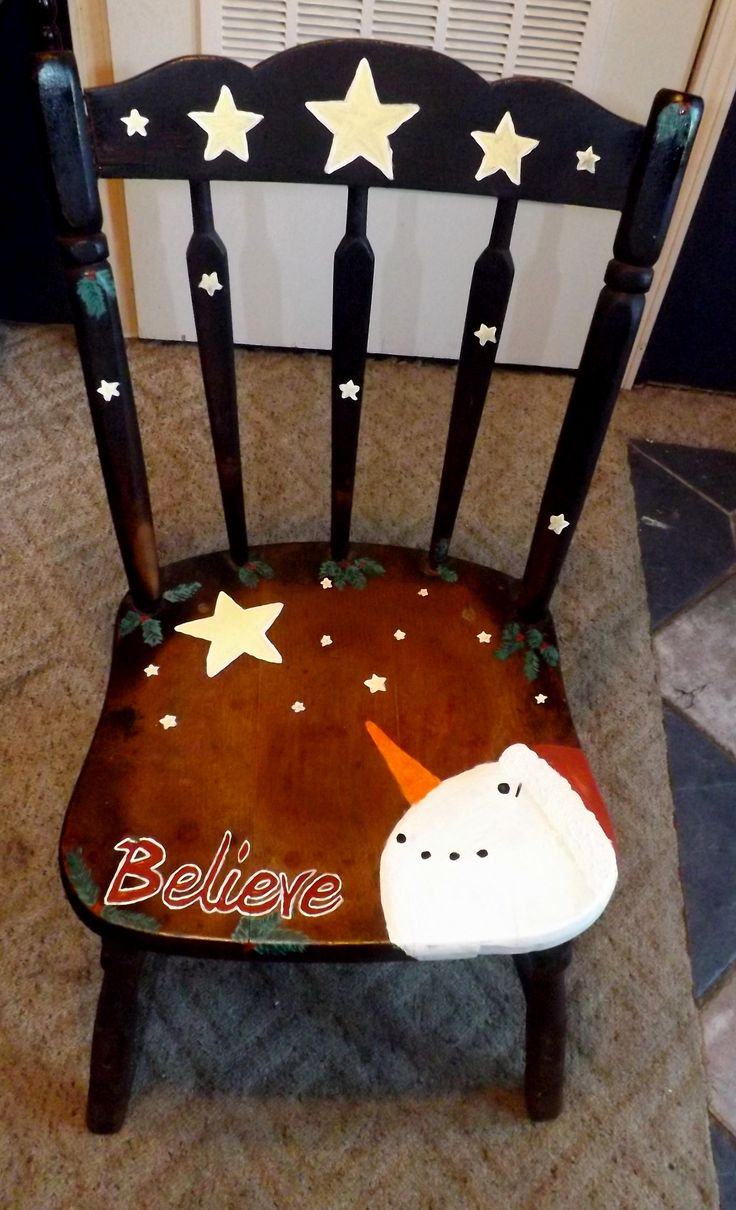 17 best images about painted chairs and furniture on