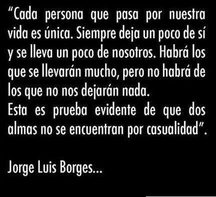 Jorge Luis Borges. #frases #citas