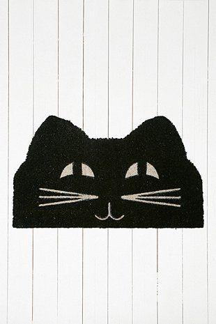 Cat Face Door Mat