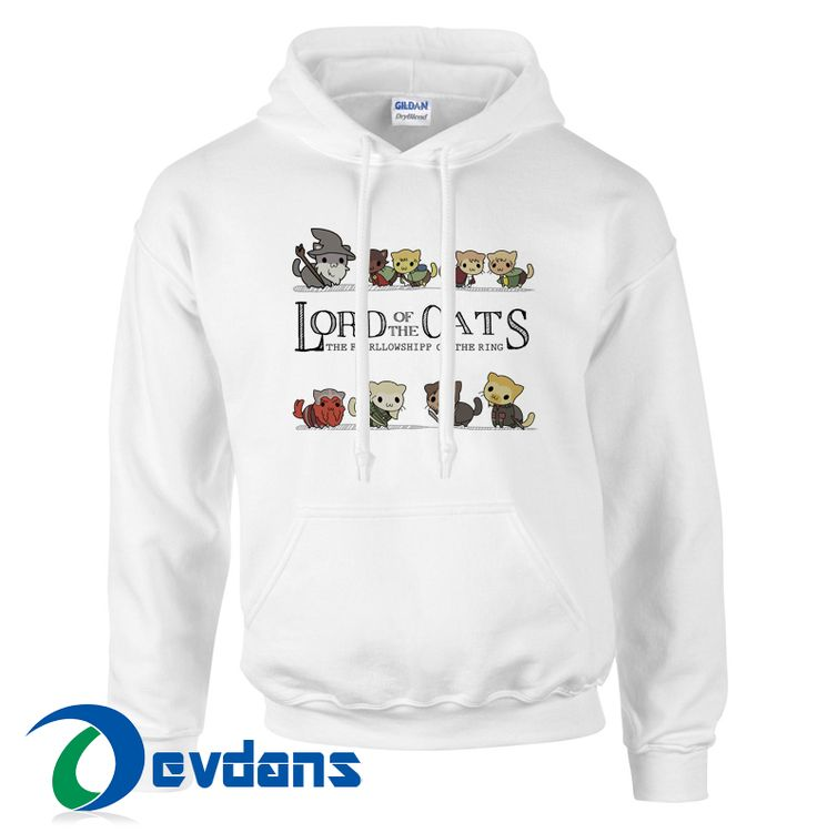Tag a friend who would love this!     $28.99    Buy one here---> https://www.devdans.com/product/lord-cats-parody-lord-rings-hoodie-unisex-adult/