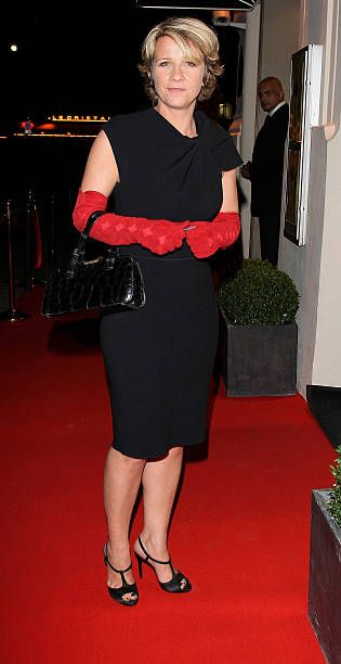 TV presenter Ariane Massenet poses at Canal Private Party at L'Arc on September 15 2010 in Paris France