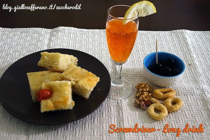 Screwdriver - long drink con arancia e vodka, un aperitivo veloce. Zucchero di Lana, il mio blog di cucina con ricette facili, veloci e gustosissime