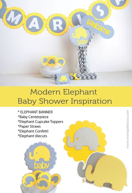 Elephant baby shower inspiratiion