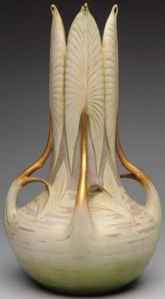 Art Nouveau Influenced Vase Designed by Paul Dachsel - - Photo Courtesy of Morphy Auctions