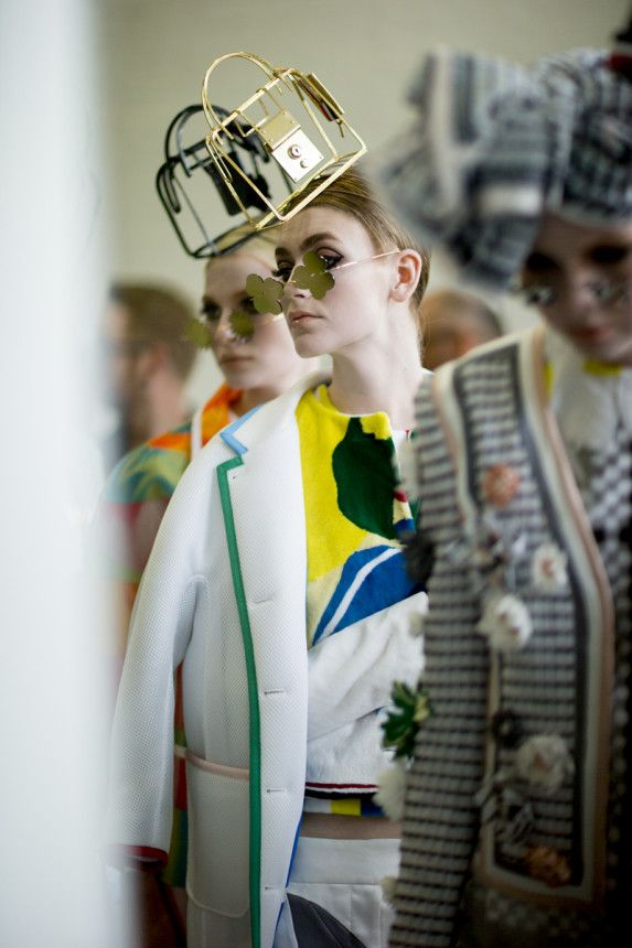 Thom Browne Spring 2015 RTW – Backstage – Vogue