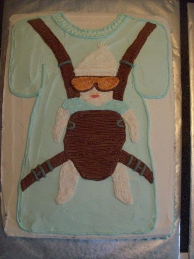 The Hangover cake - this would be awesome for a baby shower