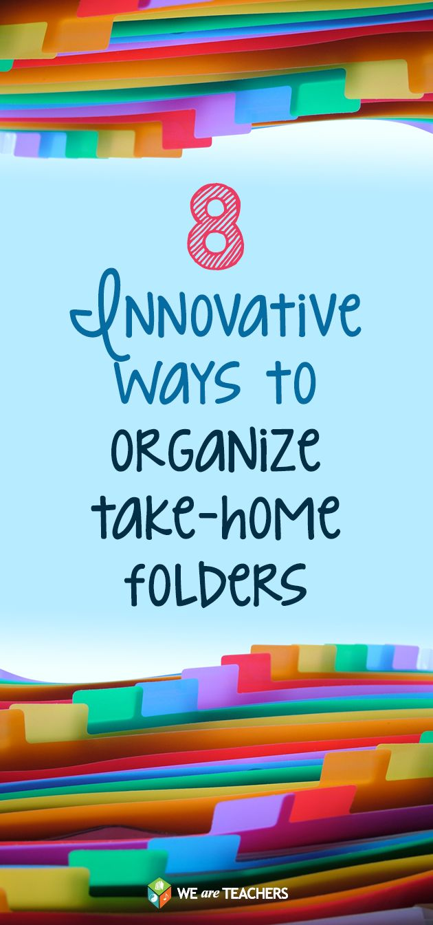 Keep classroom communication organized with these take home folder ideas from teachers.