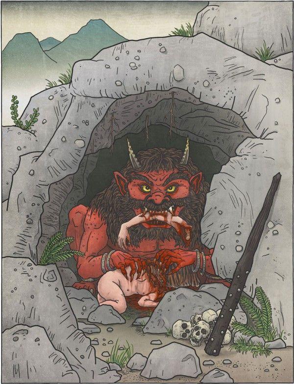 A-Yokai-A-Day: Oni