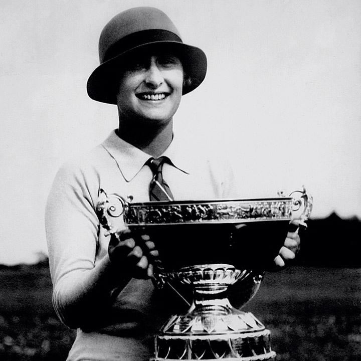 Simone Thion de la Chaume, mulher de René Lacoste, também era esportista. Ela foi a primeira não-britânica a vencer o Torneio de Golfe do Reino Unido, em 1927. E foi campeã na França 13 vezes. DIVULGAÇÃO