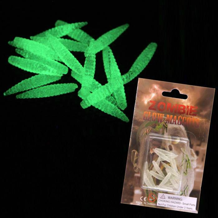 Halloween horror gadget gift verme in gomma fosforescente confezione da 18 vermi #ecommerce #homebusiness #negozi #negozio #shopping #halloween #horror #festa #feste #party #parties #eventi #evento #gadget #gadgets #gift #gifts #mostri #mostro #verme #vermi #zombi #zombie #zombies #entrataliberashopping