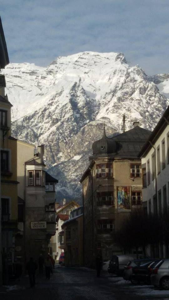 Scorcio di Hall in Tirol
