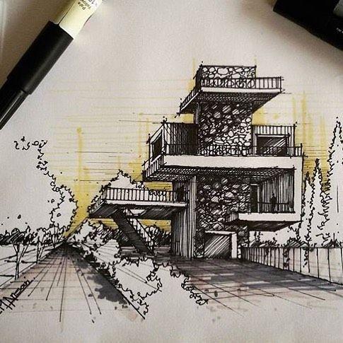 #sketch_arq by @m.ansari.architect