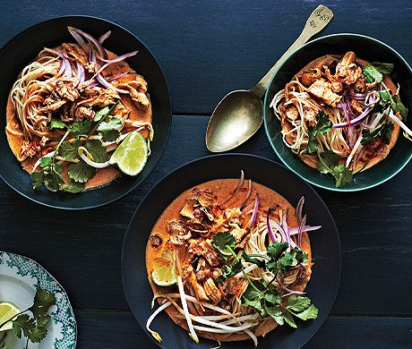 Chicken Khao Soi / Epicurious