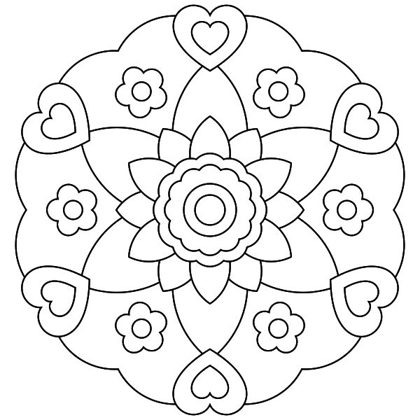 Mandala para imprimir 15