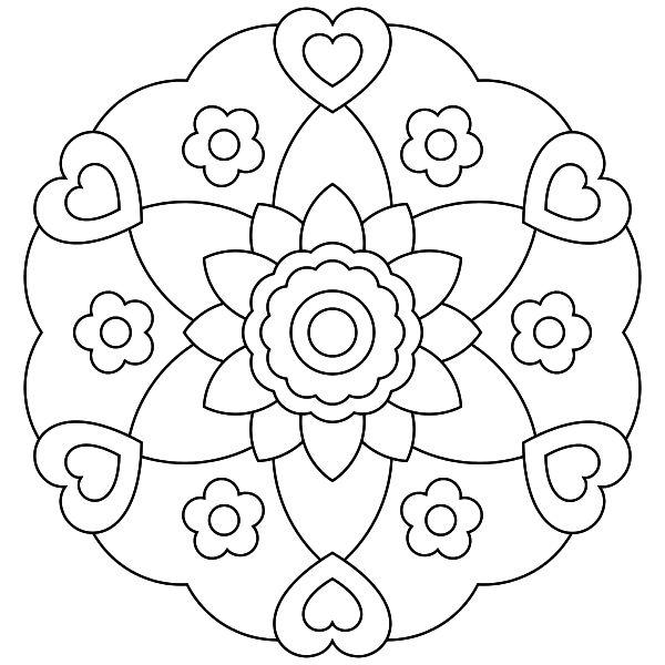 Mandala para imprimir 15 - La Guía de Mandalas