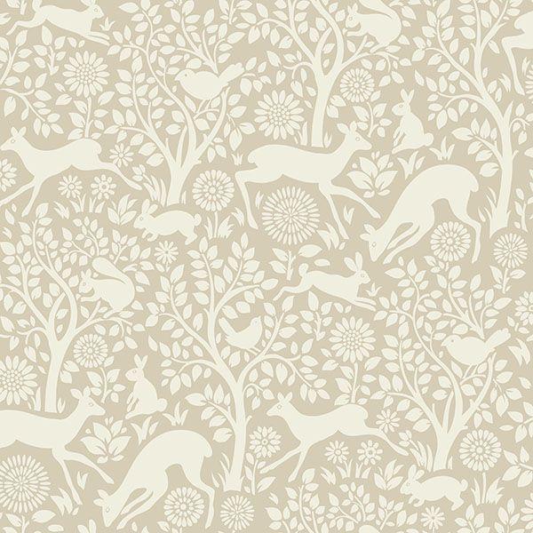 HAS01236 Neutral Forest Fauna - Anahi - Hide and Seek Wallpaper by Chesapeake