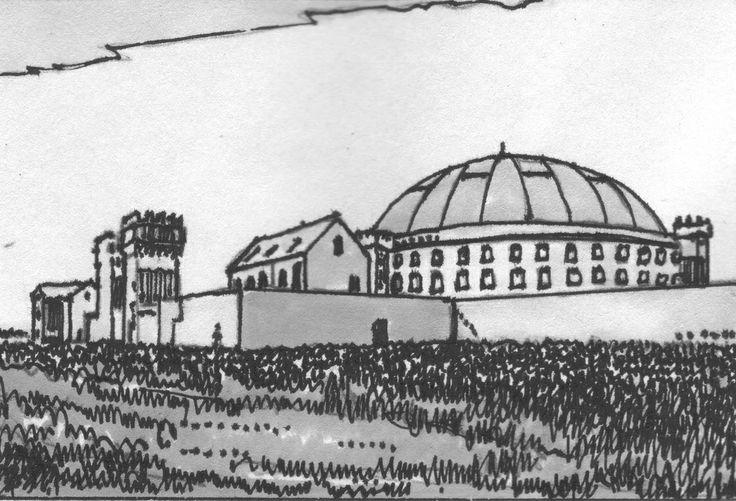 Il penitenziario di Haarlem in Olanda opera dell'architetto Willem Cornelis Metzelaar, costruito fra il 1886 e il 1901.