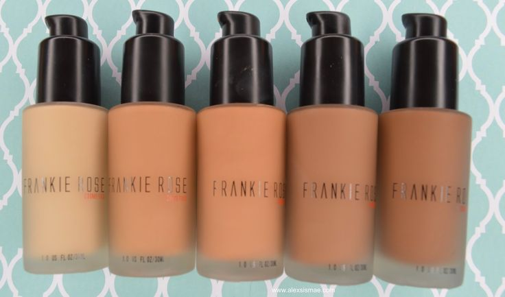AMAZING FULL COVERAGE MATTE FOUNDATION! Frankie Rose Cosmetics | Matte Foundation