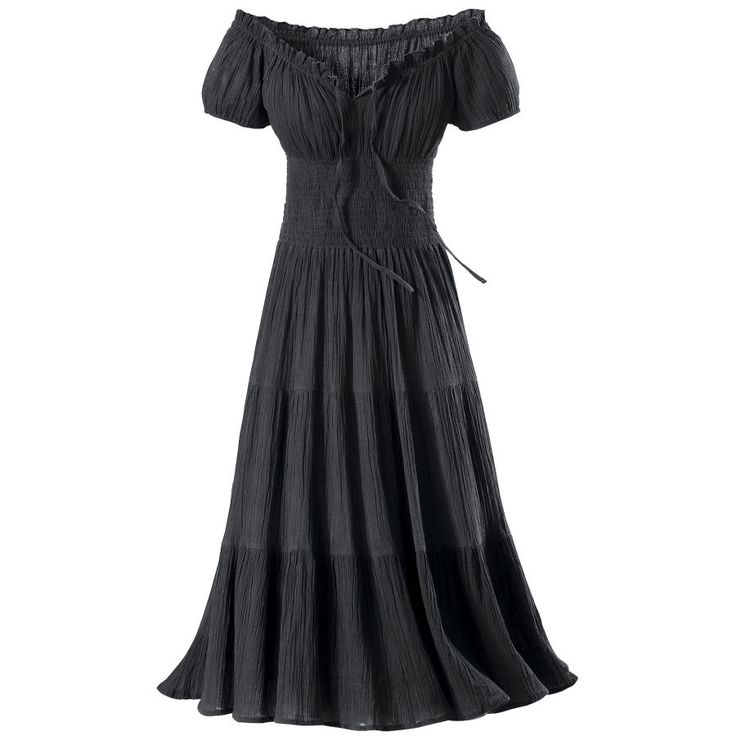 Gauze Peasant Dress - New Age, Spiritual Gifts Yoga, Wicca, Gothic, Reiki, Celtic, Crystal, Tarot at Pyramid Collection