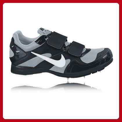 Nike Zoom TJ Triple Jump Shoes Black Silver Mens Size 14