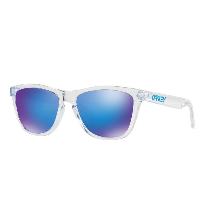 Oakley Frogskins OO9013 55mm Square Violet Iridium Sunglasses, Women's, Multicolor