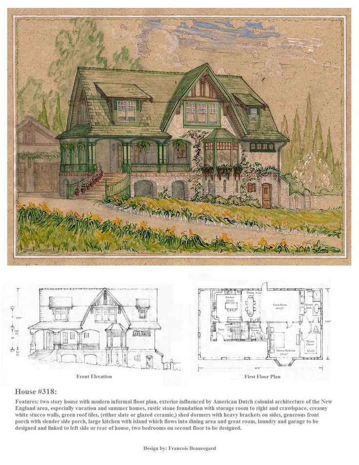 305 best house plans images on pinterest | vintage houses